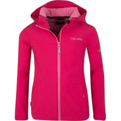 """Kurtka softshellowa """"Oppland"""" w kolorze różowym. Czerwone kurtki dziewczęce marki Trollkids, z materiału. W wyprzedaży za 125,95 zł."""