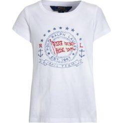 Odzież damska: Polo Ralph Lauren GRAPHIC Tshirt z nadrukiem white