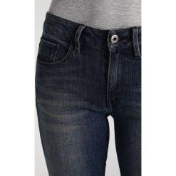 GStar 3301 MID SKINNY Jeans Skinny Fit cerro stretch denim. Niebieskie jeansy damskie marki G-Star, z bawełny. Za 419,00 zł.