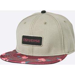 Converse - Czapka. Szare czapki z daszkiem damskie Converse, z wełny. W wyprzedaży za 69,90 zł.