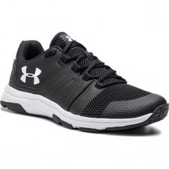 Buty UNDER ARMOUR - Ua Raid Tr 3020050-002 Blk. Czarne buty fitness męskie Under Armour, z materiału. W wyprzedaży za 209,00 zł.