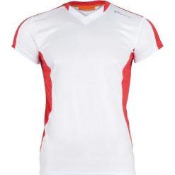 Odzież sportowa męska: Spokey Koszulka męska TS821-MS16-00X biało-czerwona r. L
