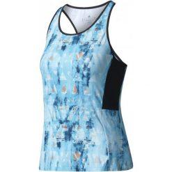 Adidas Koszulka Essex Tr Tank Samba Blue /Black L. Czarne bluzki sportowe damskie marki Adidas, l, ze skóry. W wyprzedaży za 149,00 zł.