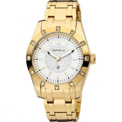 Zegarek kwarcowy w kolorze biało-złotym. Żółte, analogowe zegarki damskie Esprit Watches, szklane. W wyprzedaży za 318,95 zł.