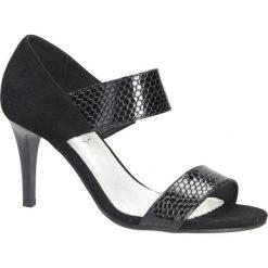 Czarne sandały szpilki Jezzi SA124-3. Czarne sandały damskie Jezzi, na szpilce. Za 98,99 zł.