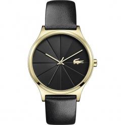 Lacoste - Zegarek 2001041. Czarne zegarki damskie Lacoste, szklane. Za 769,90 zł.