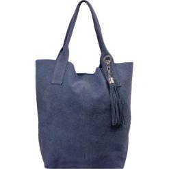 """Torebki i plecaki damskie: Skórzana torebka """"Chloe"""" w kolorze niebieskim – 33 x 34 x 18 cm"""
