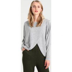 Swetry klasyczne damskie: YAS YASJUPITER  Sweter medium grey melange