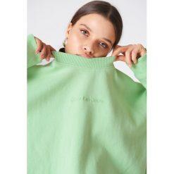 Bluzy damskie: Calvin Klein Bluza z długim rękawem Hilary – Green