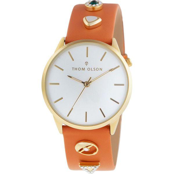 24876dffb71c9c Thom Olson - Zegarek - Pomarańczowe zegarki damskie THOM OLSON, z mosiądzu.  W wyprzedaży za 279,90 zł. - Zegarki damskie - Biżuteria i zegarki damskie  ...