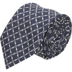 Krawat platinum granatowy classic 275. Niebieskie krawaty męskie Recman. Za 49,00 zł.