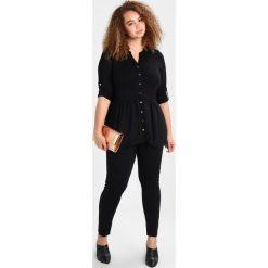 Bluzki asymetryczne: Evans Bluzka z długim rękawem black