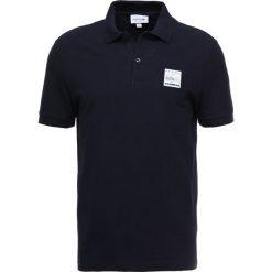 Lacoste Koszulka polo marine. Szare koszulki polo marki Lacoste, z bawełny. Za 499,00 zł.