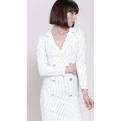 Sukienki: Biała Sukienka Wanna Live