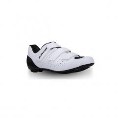 Buty na rower szosowy RoadRacing 500. Białe buty skate męskie B'TWIN, z poliamidu, rowerowe. Za 219,99 zł.