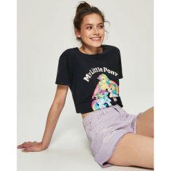 T-shirty damskie: T-shirt my little pony - Szary