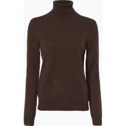 Franco Callegari - Sweter damski z czystego kaszmiru, brązowy. Brązowe swetry klasyczne damskie marki Franco Callegari, xxl, z dzianiny. Za 579,95 zł.
