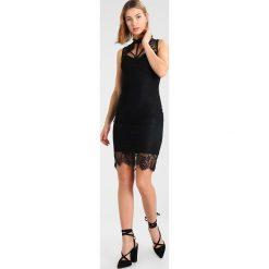 Sukienki hiszpanki: WAL G. OPEN FRONT Sukienka koktajlowa black