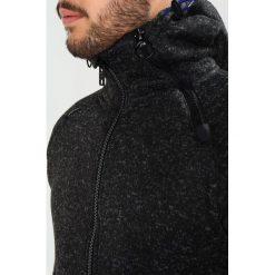 Superdry STORM DOUBLE ZIPHOOD Bluza rozpinana gritty black. Czarne kardigany męskie Superdry, m, z materiału. Za 399,00 zł.