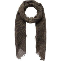Chusty damskie: Chusta w kolorze ciemnobrązowym – 180 x 70 cm