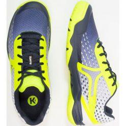 Kempa FLY HIGH WING Obuwie do piłki ręcznej navy/white/fluo yellow. Niebieskie buty do koszykówki męskie Kempa, z gumy. Za 419,00 zł.