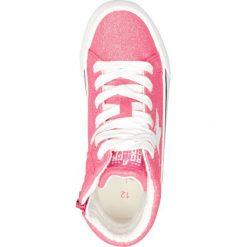 Next RETRO HIGH TOP TRAINERS Tenisówki i Trampki wysokie pink. Czerwone bluzki dziewczęce marki Next, z materiału. Za 189,00 zł.