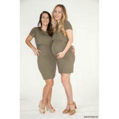 Sukienki ciążowe: Sukienka ciążowa i do karmienia Khaki