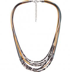 Krótki naszyjnik QUIOSQUE. Szare naszyjniki damskie QUIOSQUE, na co dzień, srebrne. W wyprzedaży za 39,99 zł.