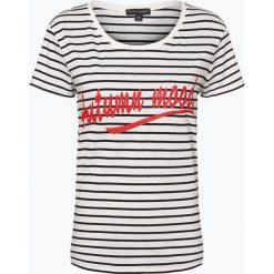 Franco Callegari - T-shirt damski, niebieski. Zielone t-shirty damskie marki Franco Callegari, z napisami. Za 49,95 zł.