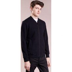 Kardigany męskie: J.LINDEBERG RANDALL CRINKLE  Bluza rozpinana black