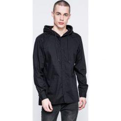 Jack & Jones - Koszula. Czarne koszule męskie na spinki marki Jack & Jones, l, z bawełny, z okrągłym kołnierzem. W wyprzedaży za 99,90 zł.