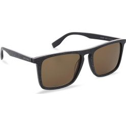 Okulary przeciwsłoneczne BOSS - 0320/S Mtblue Wood 2FW. Niebieskie okulary przeciwsłoneczne męskie aviatory Boss, z tworzywa sztucznego. W wyprzedaży za 399,00 zł.