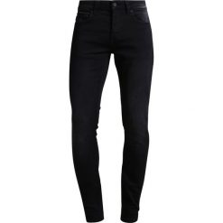 Only & Sons ONSLOOM JOG Jeansy Slim Fit black. Brązowe jeansy męskie marki Only & Sons, l, z poliesteru. Za 169,00 zł.