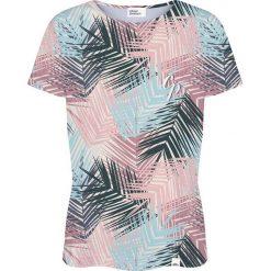 Colour Pleasure Koszulka damska CP-030 280 niebiesko-różowa r. XL/XXL. Czerwone bluzki damskie Colour pleasure, xl. Za 70,35 zł.