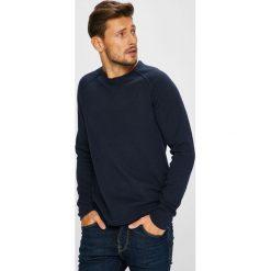 Jack & Jones - Sweter. Czarne swetry klasyczne męskie Jack & Jones, m, z bawełny, z okrągłym kołnierzem. W wyprzedaży za 99,90 zł.