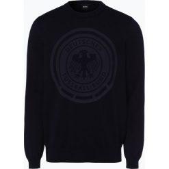 BOSS - Sweter męski – ESP-Champion - Fußball-Weltmeisterschaft, niebieski. Niebieskie swetry klasyczne męskie Boss, l. Za 849,95 zł.