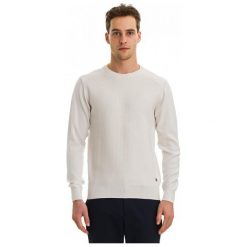 Swetry męskie: Galvanni Sweter Męski Truiden Xl Kremowy