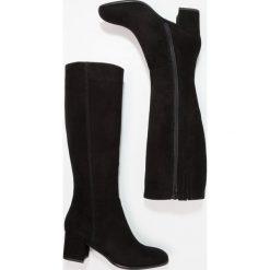 Lamica QUELA Kozaki nero. Czarne buty zimowe damskie Lamica, z materiału. W wyprzedaży za 543,20 zł.