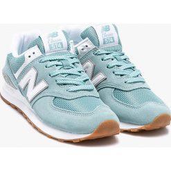 New Balance - Buty WL574ESY. Szare buty sportowe damskie New Balance, z gumy. W wyprzedaży za 299,90 zł.