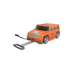 Bieco  Jeep - walizka - pomarańczowy. Brązowe walizki marki Bieco. Za 199,00 zł.