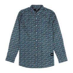 Koszule męskie na spinki: Wemoto Koszula męska Opae Blue niebieska r. M (320-5)