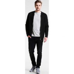 Swetry rozpinane męskie: Shine Original MENS ZIP Kardigan black