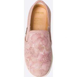Geox - Tenisówki dziecięce. Szare buty sportowe dziewczęce Geox, z gumy. W wyprzedaży za 139,90 zł.