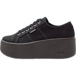 Tenisówki damskie: Victoria Shoes BASKET LONA PLATAFORMA Tenisówki i Trampki black