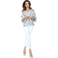 Bluzki damskie: Bluzka Hiszpanka w Manekiny z Długim Rękawem