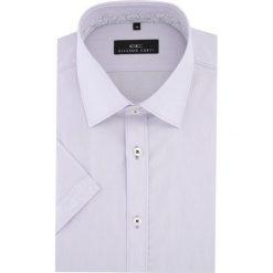 Koszula APPOLINARE 15-11-16-K. Brązowe koszule męskie marki QUECHUA, m, z elastanu, z krótkim rękawem. Za 169,00 zł.