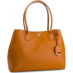 Torebka LAUREN RALPH LAUREN - Millbrook 431706107002 Brown. Brązowe torebki klasyczne damskie Lauren Ralph Lauren, ze skóry. W wyprzedaży za 919,00 zł.