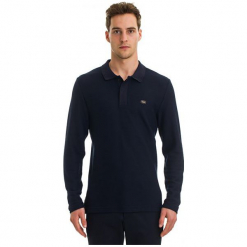 Galvanni Koszulka Polo Męska Toil L Ciemny Niebieski. Niebieskie koszulki polo marki GALVANNI, l. W wyprzedaży za 189,00 zł.