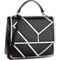 Torebka GINO ROSSI - XT281A-000-BGBG9911-X Czarny/Biały. Czarne torebki klasyczne damskie Gino Rossi, ze skóry, duże. W wyprzedaży za 499,00 zł.