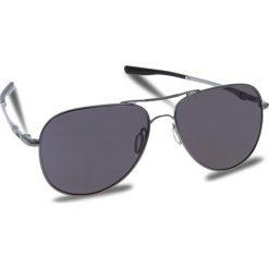 Okulary przeciwsłoneczne OAKLEY - Elmont (Large) OO4119-1460 Gunmetal/Prizm Grey. Szare okulary przeciwsłoneczne damskie lenonki marki ORAO. W wyprzedaży za 549,00 zł.